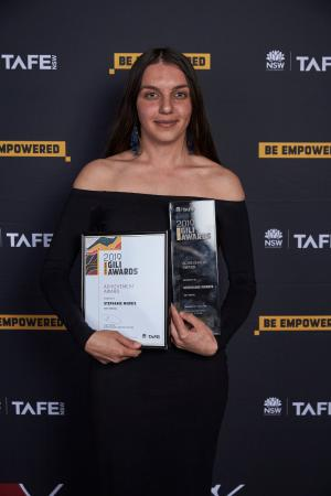 Stephanie Morris shines at TAFE NSW Gili Awards