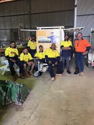 Collaborative training programproviding Wilcannia locals with a pathway to employment