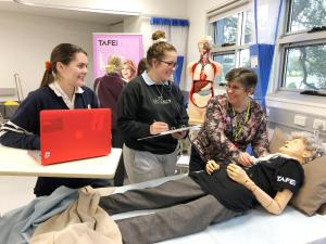TAFE NSW Moss Vale offers a taste of careers in employment growth area