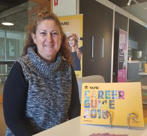 TAFE talks with Tracey