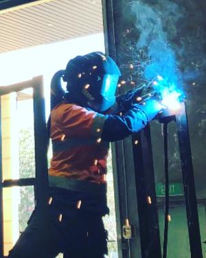 TAFE NSW student welding her way to success