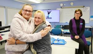 Mother and daughter become classmates to sharpen interview skills at TAFE NSW Ulladulla
