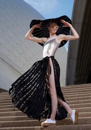 Northern Beaches TAFE NSW graduates showcase their collection at Fashion Week
