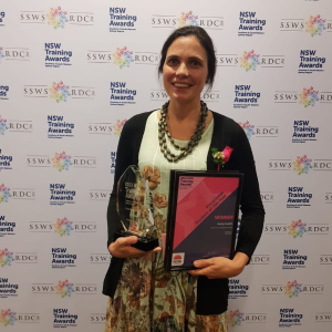 Engadine local wins prestigious regional Vocational Student of the Year Award
