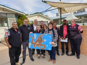 TAFE NSW contributes to highly skilled Walgett Aboriginal Medical Service workforce