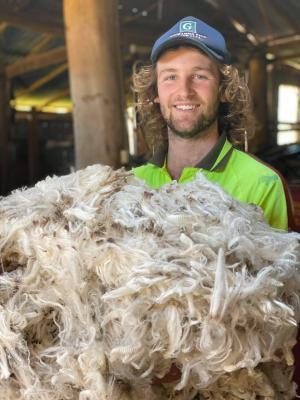 SHEAR CLASS: Wil turns to TAFE NSW to turbocharge career