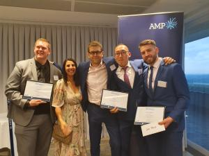 TAFE NSW studentstake home silver at AMP University Challenge