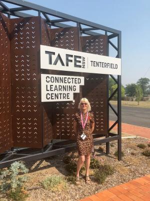 Jennifer and Scott enhance learning experiences at TAFE NSW Tenterfield