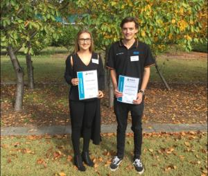 Two Hunter locals win $2k mining scholarships