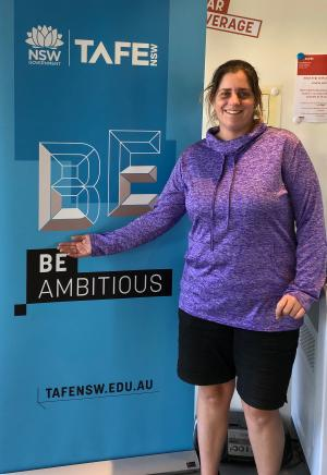 TAFE NSW helps Tahlea carve out rewarding career