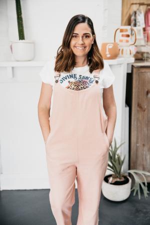 IN THE PINK: Inspiring Tiarna backs TAFE NSW to lead jobs reboot