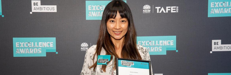 Taeko Iizuka praised at prestigiousTAFE NSWawards