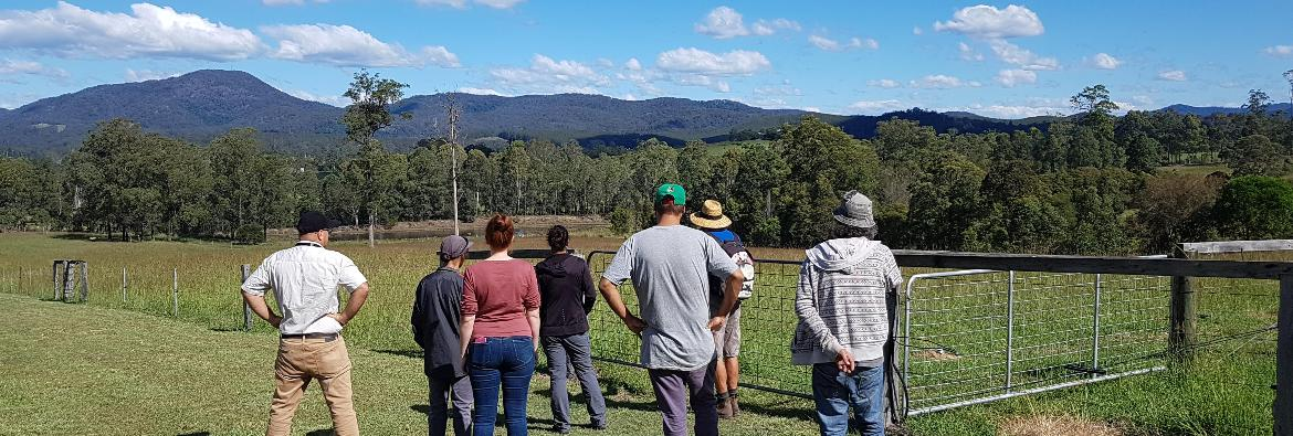 TAFE NSW students caring for the land