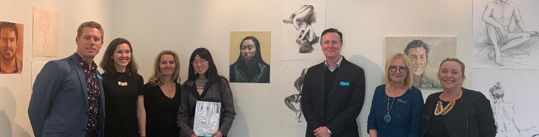 TAFE NSW student wins prestigious Noel Chettle Art Prize