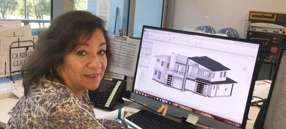 Giving drafting a go takes TAFE NSW graduate to new heights in building design