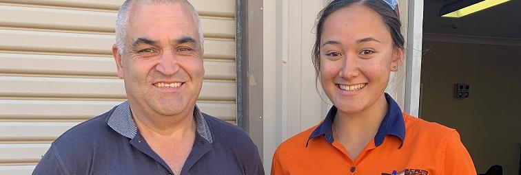 TAFE NSW student puts the pedal to the metal