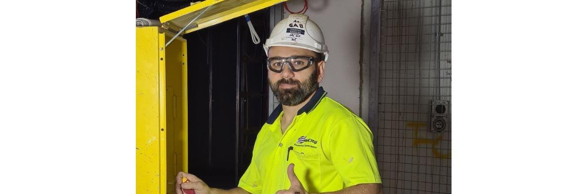 TAFE NSWSTUDENT TURNS UP THE VOLTAGE ON HIS CAREER