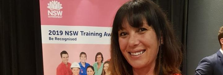 TAFE NSW student recognised for achievements at awards
