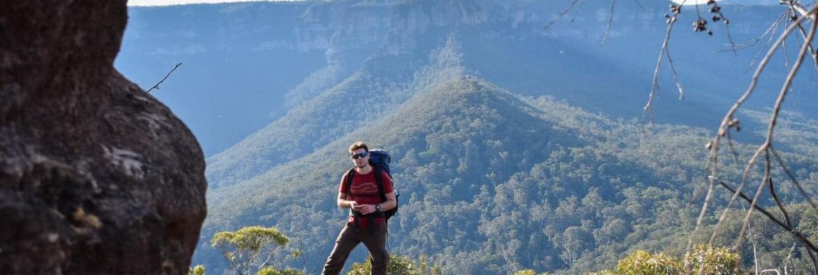 TAFE NSW student climbing to new heights in Australia's booming adventure travel industry