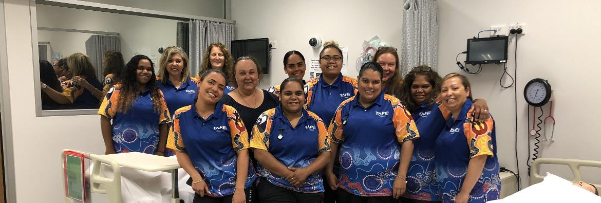 TAFE NSW course helping close the gap for Aboriginal healthcare workers