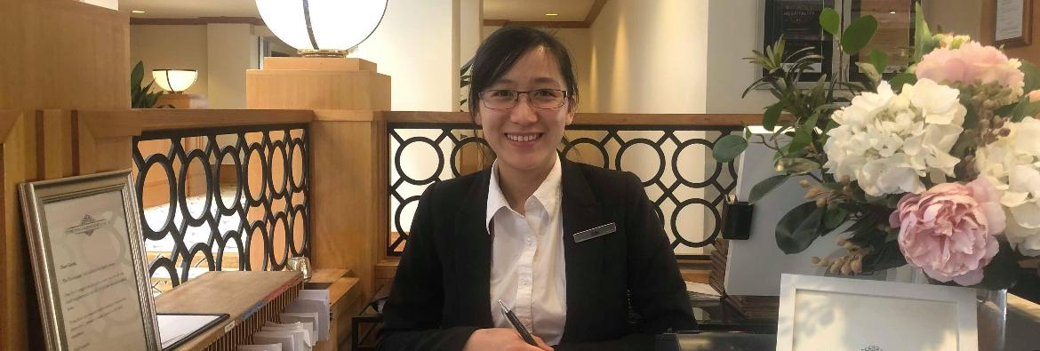 TAFE NSW graduate pursues hospitality jobs boom in ACT at five star level