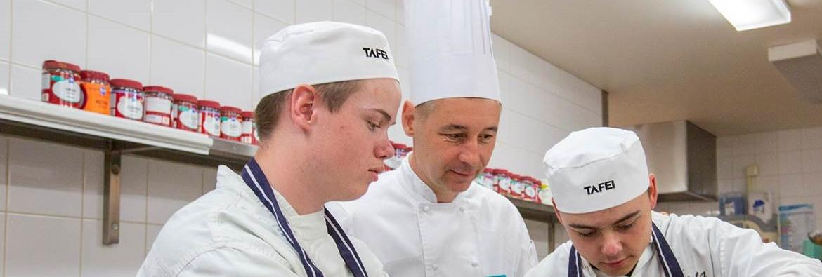 ESTEEMED CHEF BECOMES TEACHER AT TAFE NSW