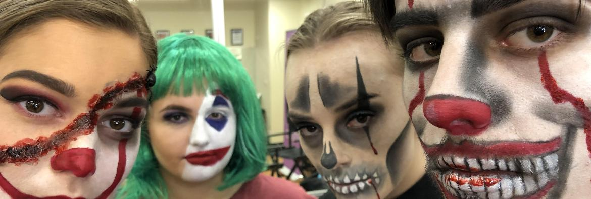 TAFE NSW beauty tips for that horror Halloween look