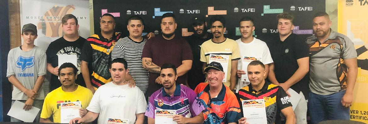 Inspiring TAFE NSW Moree students graduate