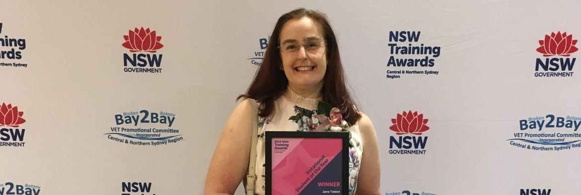 Waverton local wins at Regional Training Awards