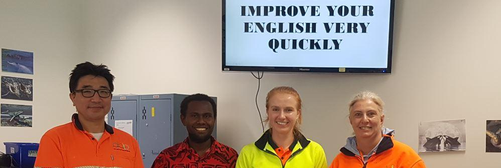 English & lobstersthe focus forTAFE NSWstudent