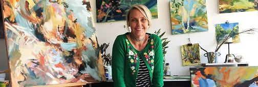 TAFE NSW student paints away at a bright future