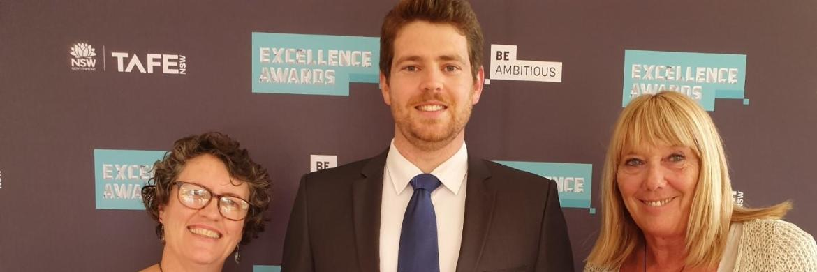 class act: Bomaderry's Philip Freeland claims top gong at prestigious TAFE NSW awards