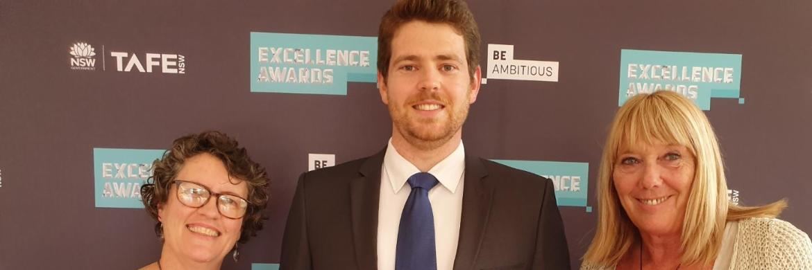 Class act: Bomaderry's Philip Freeland claims top gong at prestigious TAFE NSWawards