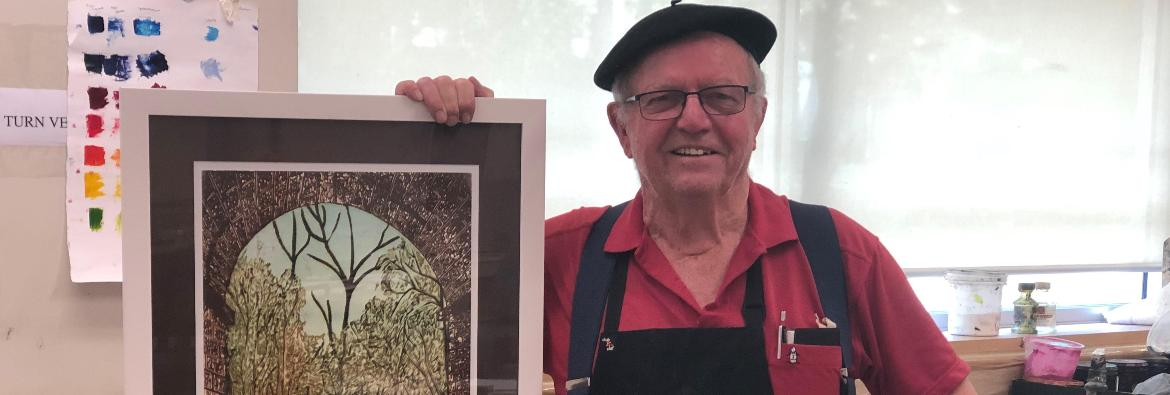 TAFE NSW student pursues his passion at 72