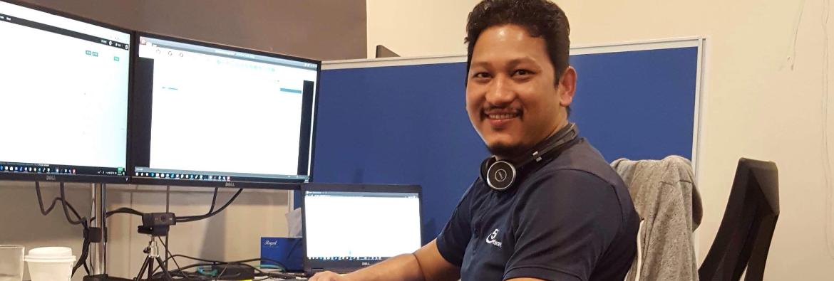 TAFE NSW helps Sanjib connect to his career
