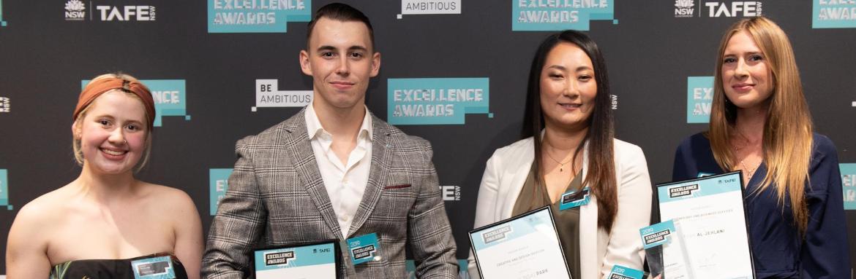 TAFE NSW GRANVILLE students top TAFE NSW awards