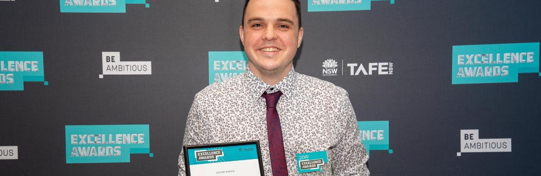 Steven Green praised at prestigiousTAFE NSWawards