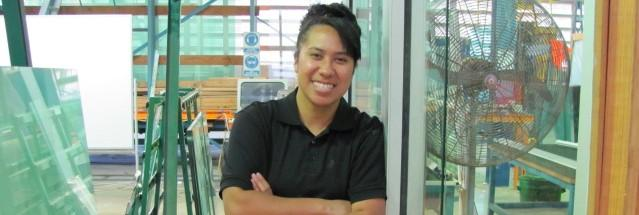 Female apprentice glazes the way to a successful career with TAFE NSW