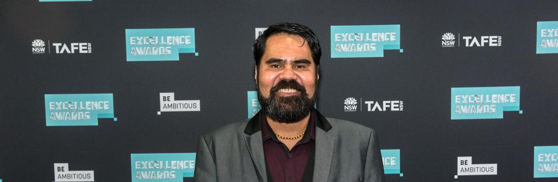 Christopher Currie praised at prestigious TAFE NSW awards