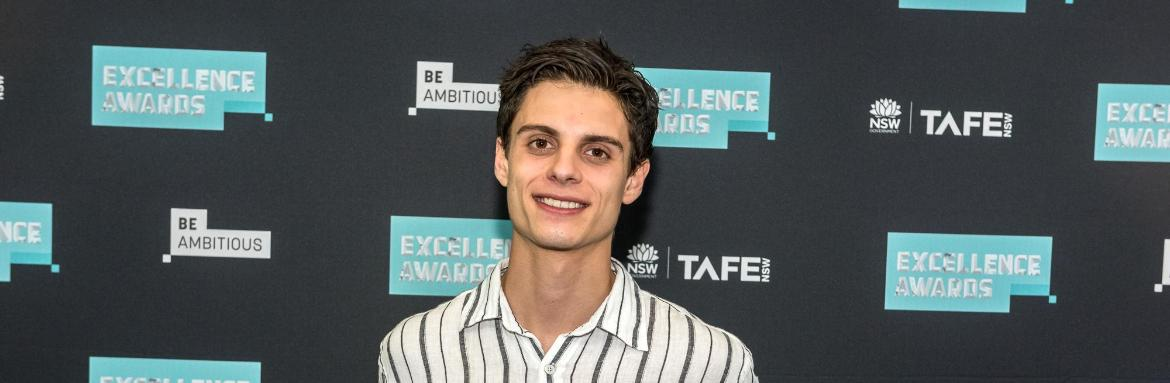 Marcello Polifrone-Occelli praised at prestigious TAFE NSW awards