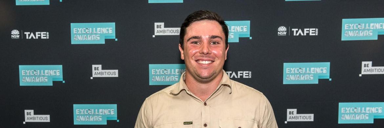 Wollongong's Samuel Rose wins prestigious TAFE NSWaward