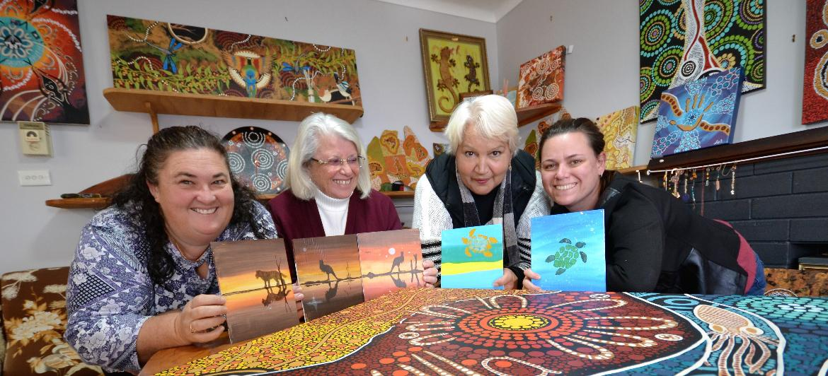 Storytelling through art with TAFE NSW