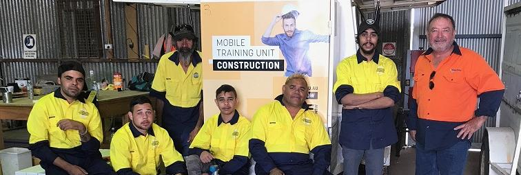Collaborative training program providing Wilcannia locals with a pathway to employment