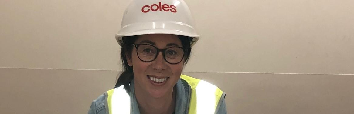 Upskilling advances TAFE Digital student's career in Construction with Coles