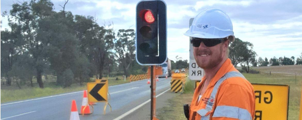 TAFE NSW takes James from welding to the front line on local road projects