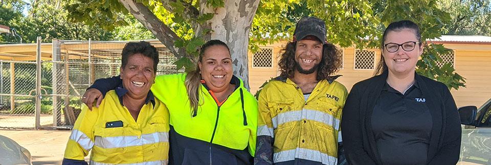 TAFE NSW graduates make education a family affair