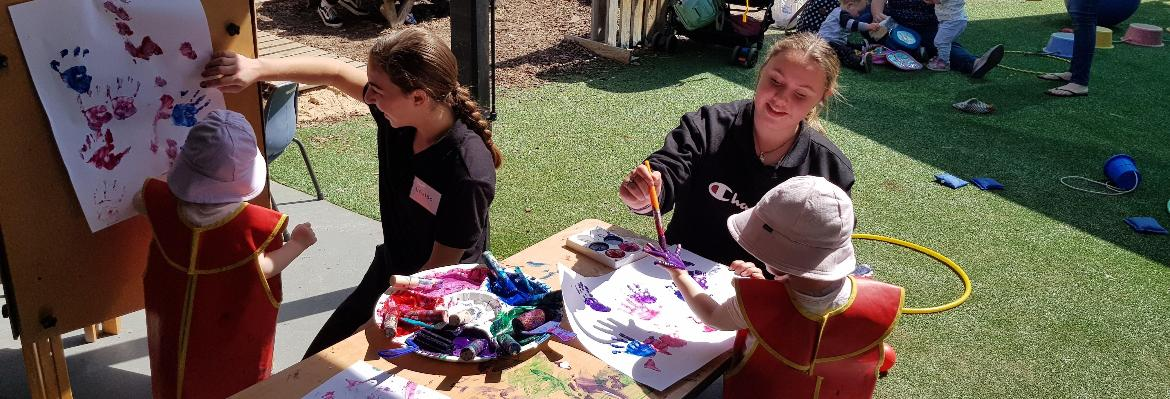 Local students get a taste of early childhood education at TAFE NSW