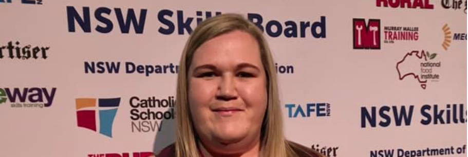 'Deadly' Jenna credits TAFE NSW after emotion-charged awards win