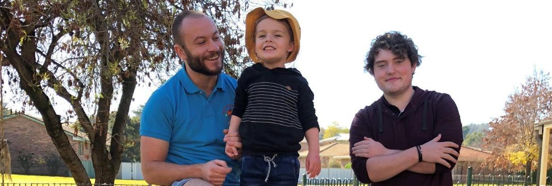 Joyous career change for TAFE NSW Cowra student Peter Buik