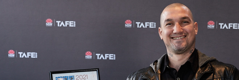 BUILDING HOPE: How TAFE NSW helped Steve 'break the chain'